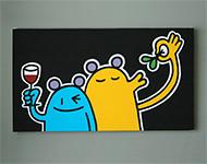 Acryl auf Leinwand, 50 x 80 cm