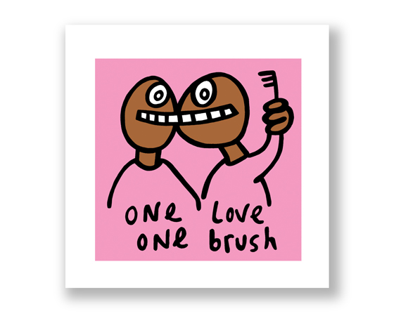ONE LOVE - ONE BRUSH