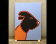 2000 | Acryl auf Hartfaser | ungerahmt, 100 x 70 cm
