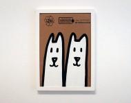 Acryl auf Pappe, gerahmt | 30 x 21 cm | Signiert, gestempelt und datiert