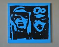 2016, Acryl auf Leinwand, 56 x 60 cm