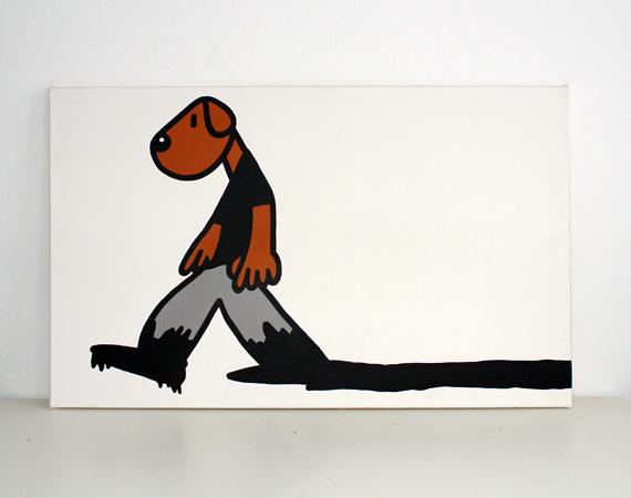 BLACK INK DOG
