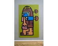 2016   Acryl auf Leinwand   200 x 100 cm
