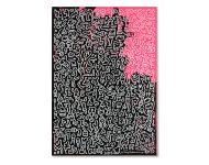 Acryl und Marker auf Karton | 70 x 50 cm