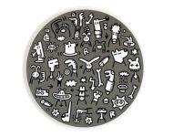 Acryl auf runder Leinwand | ø = 50 cm