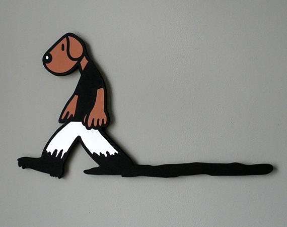 BLACK INK DOG - 3D